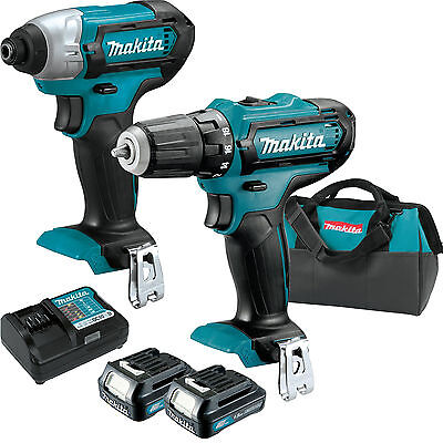12V Max CXT 2 Speed Li-Ion Cordless Impact Drill Driver Combo Makita CT226 New