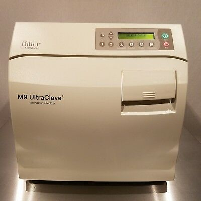 Likenew Refurbished Autoclave Ritter Midmark M9 Ultraclave Sterilizer 300 Cycles