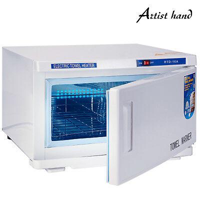 2in1 Hot Towel Warmer UV Sterilizer Cabinet Salon Spa Beauty Facial Skin Care
