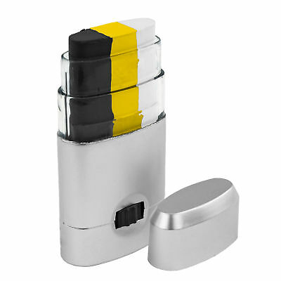 Face Paint Stick Dispenser Black Gold White Easy Apply Football Pittsburgh Iowa