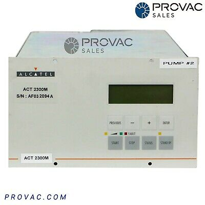 Alcatel Act-2300m Turbo Pump Controller Rebuilt By Provac Sales Inc.