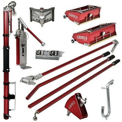 Drywall Taping Finishing Set W Automatic Taper 1012 Flat Boxes
