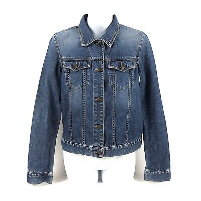 Womens Abercrombie And Fitch Denim Jean Jacket Size Small