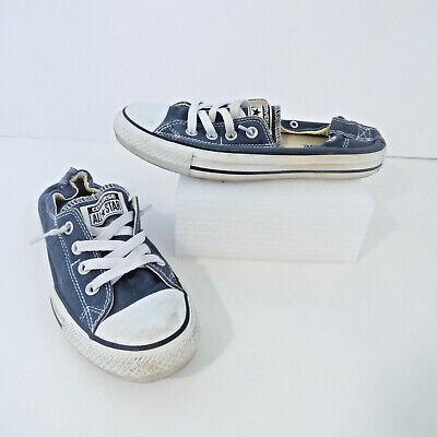 Converse All Star Chuck Taylor Tennis Shoe Women 8 Elastic Back Blue Sneakers