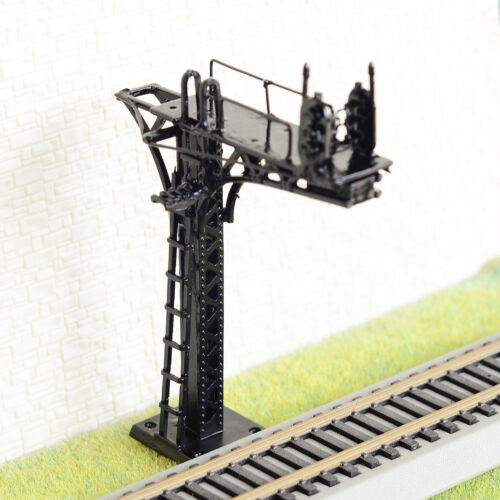 1 x HO / OO gauge cantilever block signal bridge tower 2 direction single track