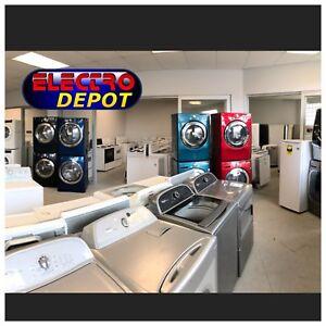 Laveuse frigidaire réfrigérateur usagé à vendre Drummondville