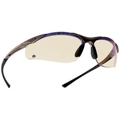 Bolle 40047 Contour Safety Glasses Esp Lens Gunmetal Frame