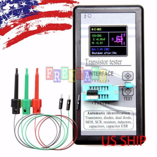 """B1 Color 1.8"""" TFT ESR Transistor Resistor Diode Capacitor Mosfet Tester w/ hook"""