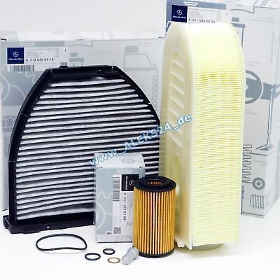 Original Mercedes Filterpaket Inspektionspaket C-Klasse E-Klasse W204 W212 S212