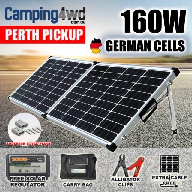 Solara Solaranlage Wohnwagen Solaranlage 100% Made In Germany 160watt 160w 12v