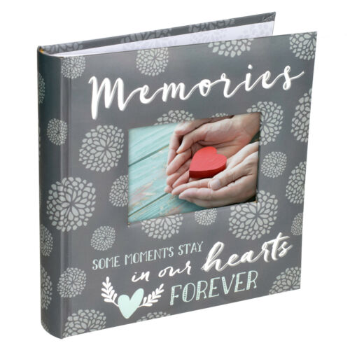 Memories Some Moments Stay in Our Hearts Forever Photo Album (Holds 160 4x6)