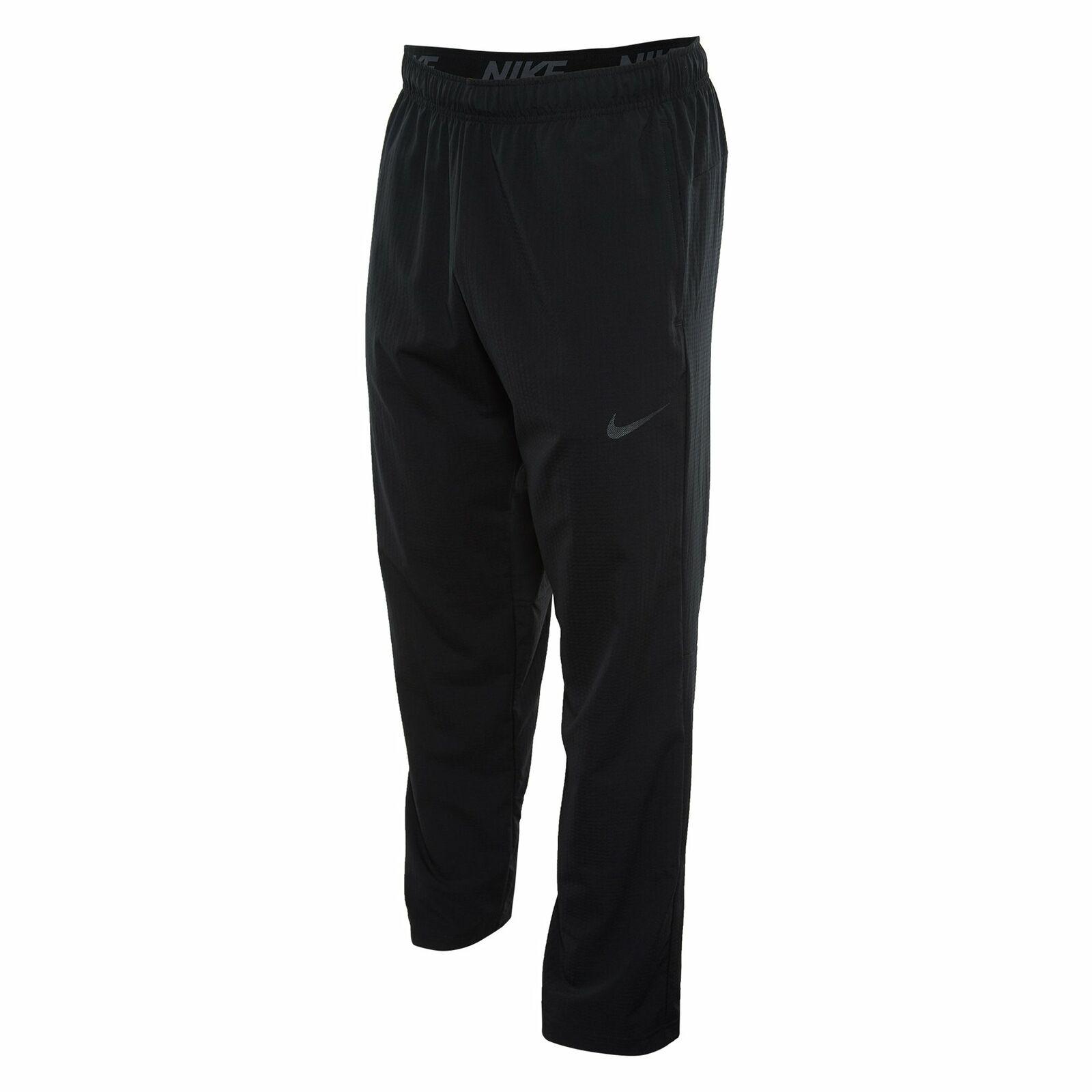 NIKE Men Flex Training Pants Black 905557 010 - Med New