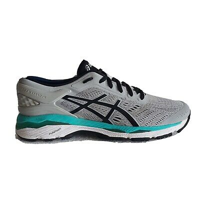 Asics Gel-Kayano 24 Women's Athletic Running Shoes Grey Black Turquoise Sz 8.5/9