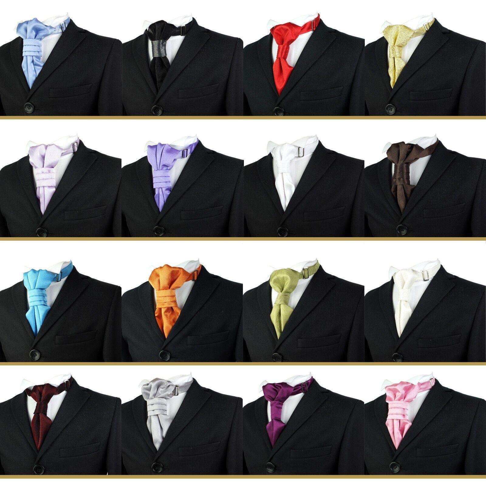Boys wedding Cravats Boys Ivory Cravat Cravats for Boys Page Boy Cravats