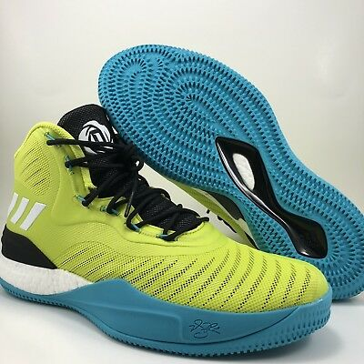 best website c5b67 43e62 Adidas D Rose Volt Black Basketball Shoes Mens Size 11 (CQ0828)