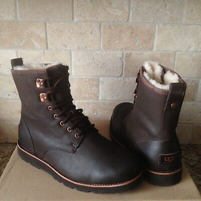 3c7091b17f1 UGG HANNEN TL STOUT WATERPROOF LEATHER WINTER WORK BOOTS SHOES SIZE US 14  MENS