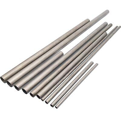 4pcs Od 12mm Id 11mm Length 330mm 304 Stainless Steel Capillary Tube