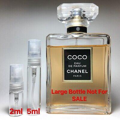Coco Chanel Eau De Parfum - SAMPLE 2ml 5ml Perfume ()