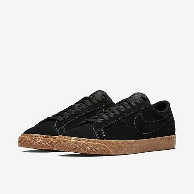 Leder Skateboard Schuh (Herren-Skateboardschuh Nike SB Blazer Zoom Low Wildleder Gr. 45.5 UVP : 90 €)