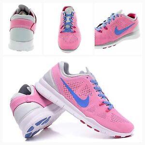 BNIB UK 5.5 Nike Free 5.0 TR Fit 5 Womens Trainers Gym Running 704674-600 WMNS