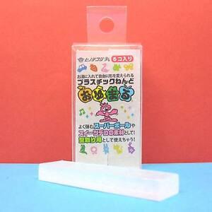 Oyumaru-Modeling-Compound-Moulding-Stick-Spark-White-6pcs-set
