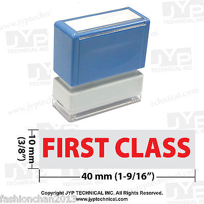First Class - Jyp Pa1040 Pre-inked Rubber Stamp
