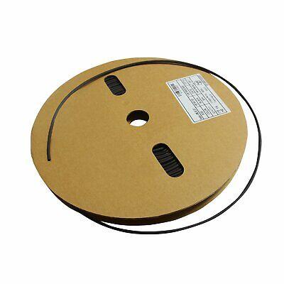 100 Black 100ft 18 3mm Polyolefin 21 Heat Shrink Tubing Tube Cable Ul Bk