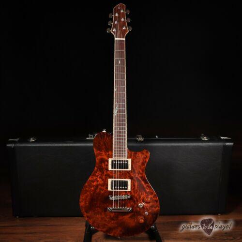 New Orleans Guitar Company Voodoo Custom w/ Case - Redwood Burl