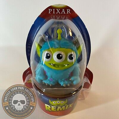 "DISNEY PIXAR REMIX TOY STORY ALIEN Monsters Inc Sulley 3"" FIGURE #02 New 2020"