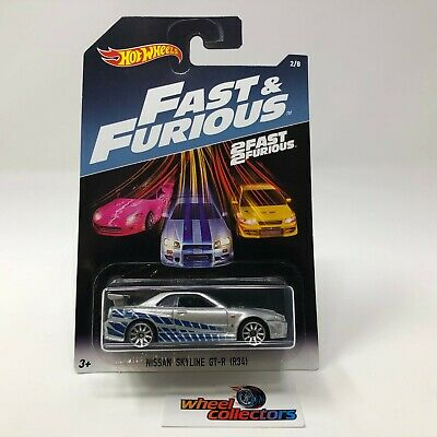 Nissan Skyline GT-R (R34) * Hot Wheels Fast & Furious * S24