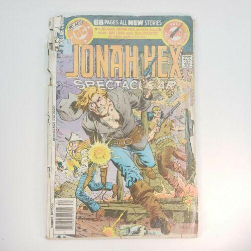 Jonah Hex Spectacular Comic Book (DC, 1978) Special Series Vol. 2 #16 - 1.8 GD-
