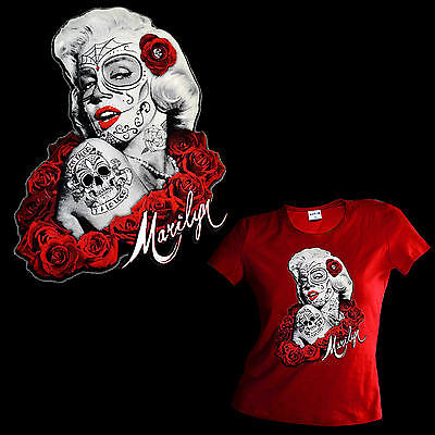 * Tattoo  PinUp Rockabilly Flash Damen Girl Ladies T-Shirt *2090 rot