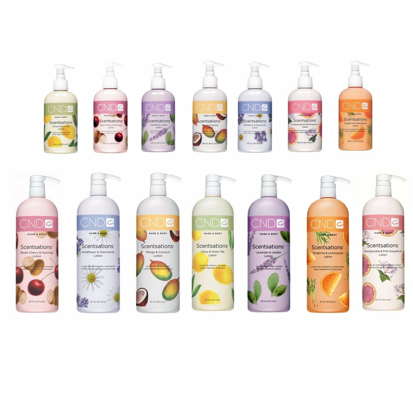 lotion hand and body scentsations lotions size
