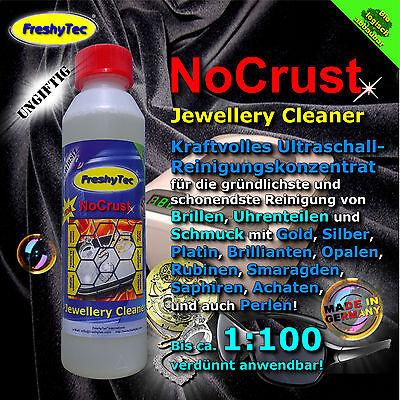 NoCrust Joyería Limpiador:Ultrasonidos Concentrado limpieza para Joya y Reloj
