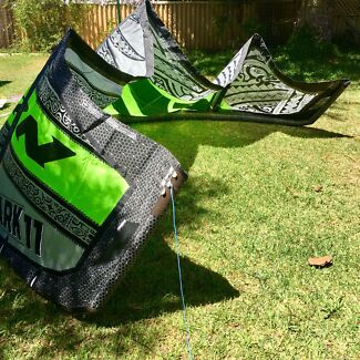 2014 Naish Park 11m kite complete with bar, leash & pump