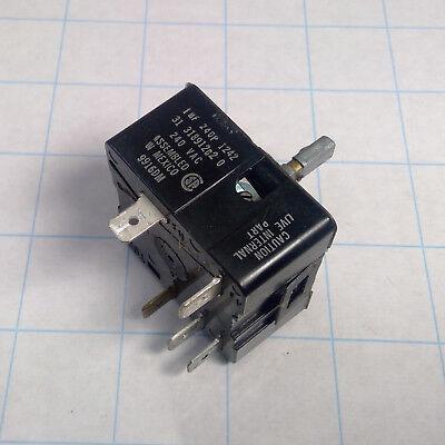 AMANA Electric Range BURNER SWITCH WP74011243 1166060 AP6011241 PS11744436