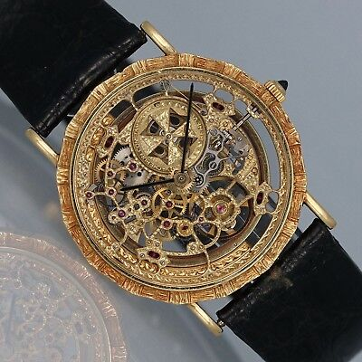 """Vacheron Constantin """"Skeleton"""" Yellow Gold Automatic Ref. 43030 - RARE for sale  Shipping to Canada"""
