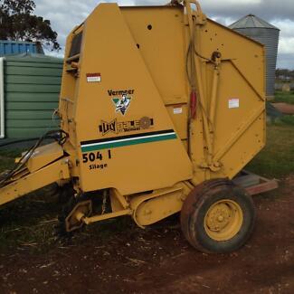 Lely Vermeer 504 baler Dingee Loddon Area Preview
