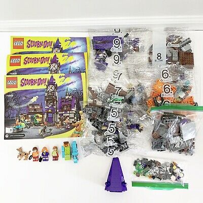 Lego Scooby Doo Mystery Mansion 75904 Retired With Manuals
