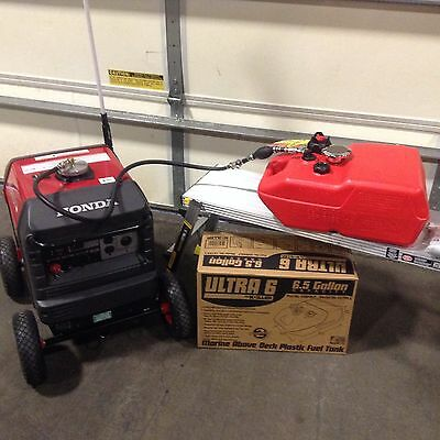 HONDA EU3000IS GENERATOR 6.5 GAL EXTENDED RUN Maritime FUEL SYSTEM ** NEW 2017 **