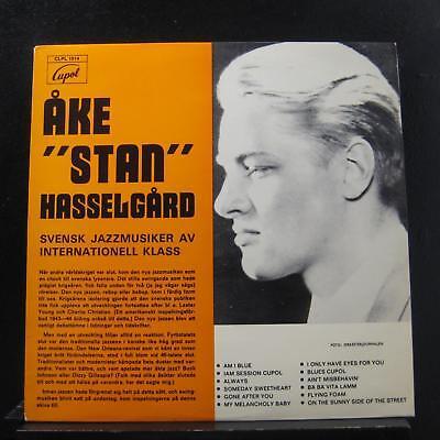 Ake Stan Hasselgard   Svensk Jazzmusiker Internationell Lp Vg  Clps 1014 Sweden