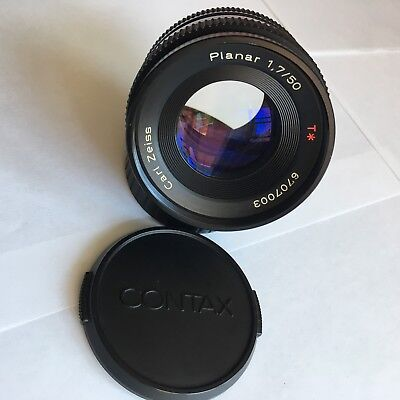 Contax Carl Zeiss Planar T* 1,7/50 for Contax/Yashica - Refurbished By Mark Hama for sale  Freeport