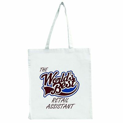 Die Worlds Best Einzelhandel Assistent - Groß Einkaufstasche Tasche