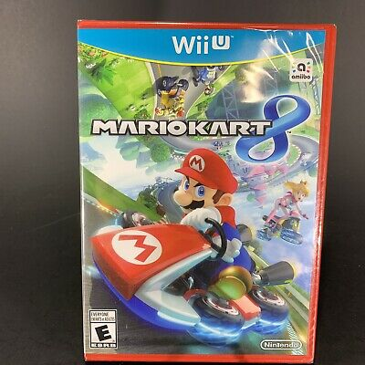 Mario Kart 8 (Nintendo Wii U, 2014) Brand New, Sealed - FREE Shipping