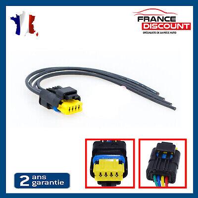 FUEL PUMP PLUG WIRING HARNESS LOOM 4 PIN CONNECTOR CITROEN / RENAULT / PEUGEOT