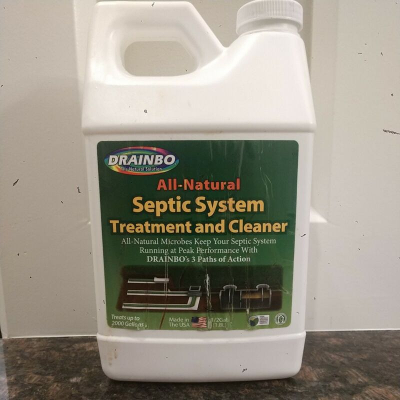 DRAINBO All- Natural Septic System Treatment and Cleaner 1/2 Gallon