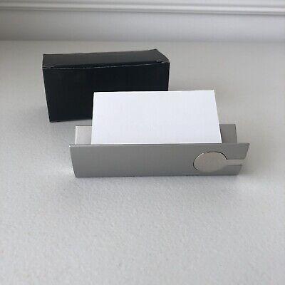 Vintage Desktop Business Card Holder