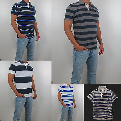 New 2014 Hollister By Abercrombie Men First Jetty Polo Shirt All Size, Color NWT