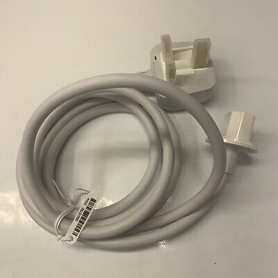 "GENUINE NEW APPLE IMAC 20"" 24"" 27"" UK MAINS POWER CABLE 2007 2008 2009 A1224"