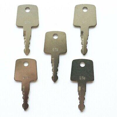 5 Sakai Roller Ignition Keys Heavy Equipment Asphalt Roller Key 974